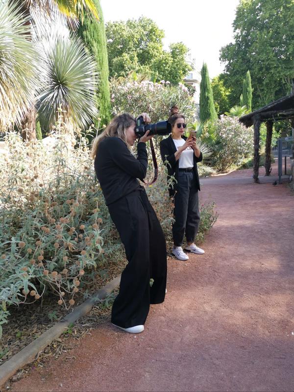 Emilie Froquet Photographe en action